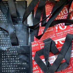 lululemon athletica Bags - 9 small Lululemon Athletica reusable bags. New